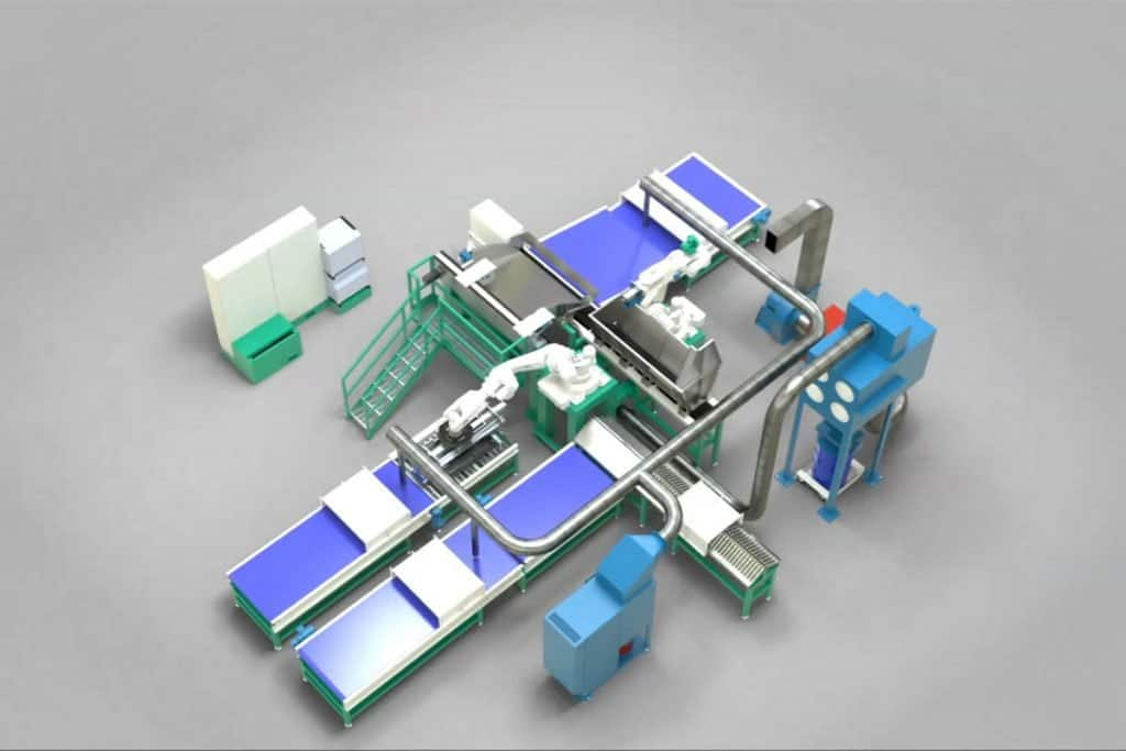 Automated recycling solutions