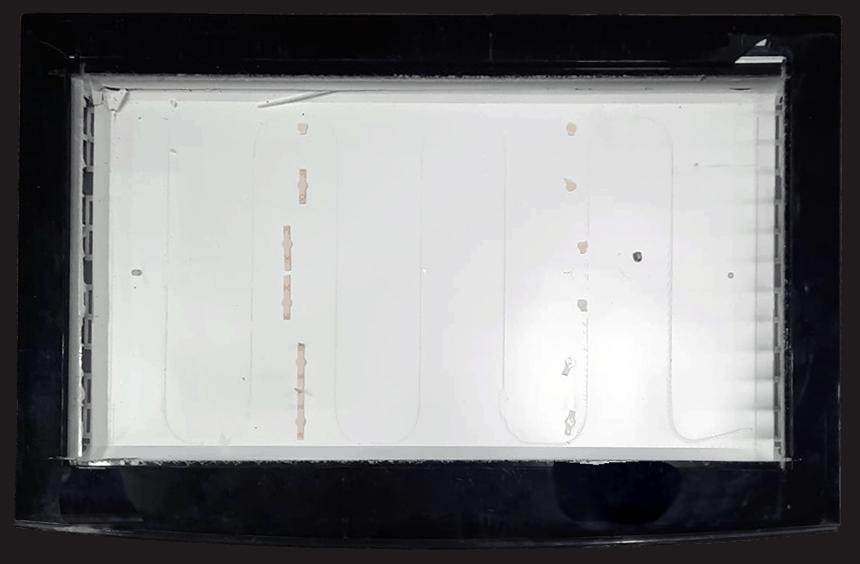 depoluted screen