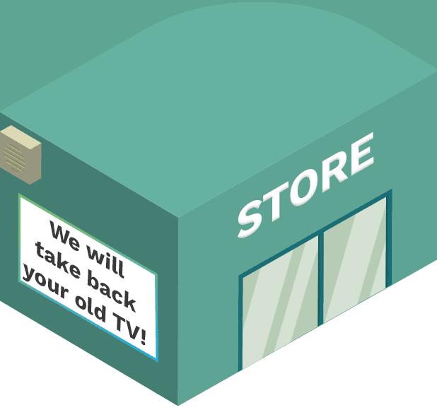 local tv store